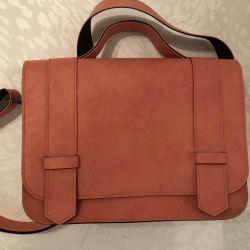 Pembe zarf çantası