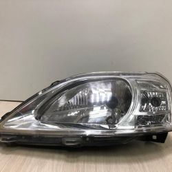 Headlamp left (halogen) Lada Largus oem 8200744753 (scrap. 1 st.) (Hole in the building) (skl-3)