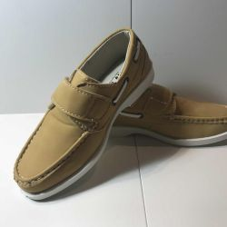 New, moccasins for boys