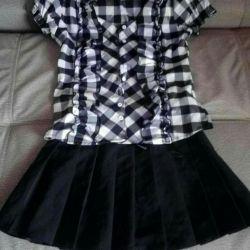 Πουκάμισα, φούστες, παντελόνια σχολείου