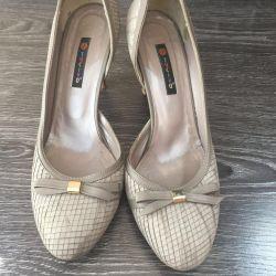Ayakkabılar doğal 38-38,5 boyutu 👠👠
