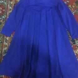 Dress elegant in a fold for girls