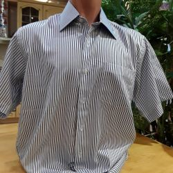 Men's shirts with short sleeves, new