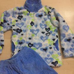 Пижамы махровые