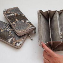 Python Deri Cüzdan