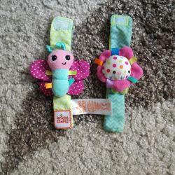 Rattle Bracelets