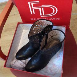 Ботиночки Francesco donni натур кожа