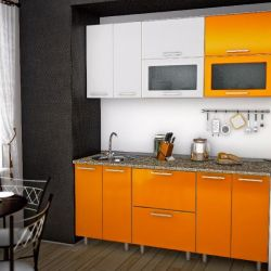 Komple mutfak Turuncu 180cm