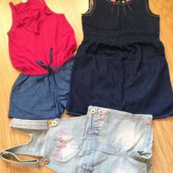 Одяг нова для дівчинки