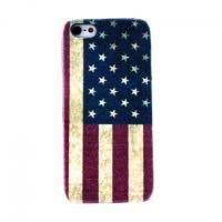 Θήκη καλύπτει αμερικανική σημαία για iPhone 5 / 5s