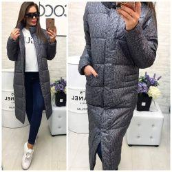 Plashevka sıcak gri ceket yeni
