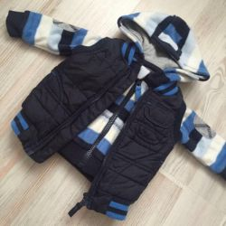 Vest and jacket