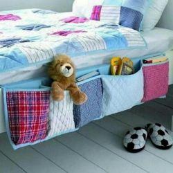 Кармашки- органайзер для кроватки