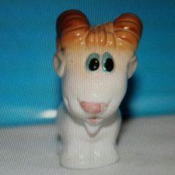 Figurină din porțelan Capra