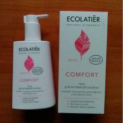 Ecolatier Gel για οικιακή υγιεινή Comfort 250ml
