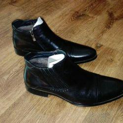 Pantofi din piele pentru bărbați