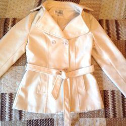 Short coat milky white MaxMara