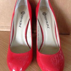 Yeni Vernik Tervolina ayakkabı (38 rr)