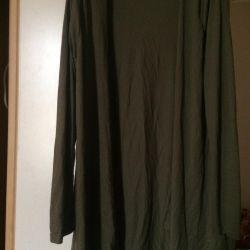 Кофта кардиган зелeный М