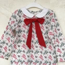 Blouse for girls for 3-4 years, 98-104