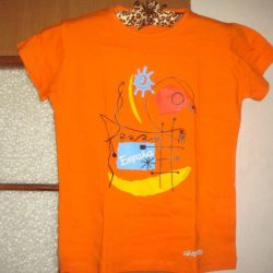 Новая футболка из Испании