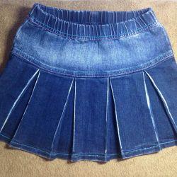 Юбка джинс от 6 лет