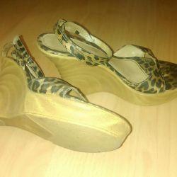 Sandaletler Zara stüdyo koleksiyonu, 37 beden
