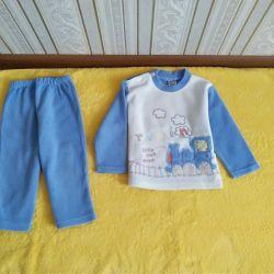Κοστούμι 2 τεμάχια και kombez μέχρι 2 χρόνια.