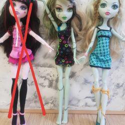 Monster High Monster υψηλές πρωτότυπες κούκλες