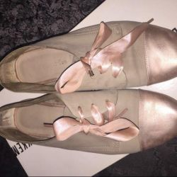 Tamaris satin ribbon soft slippers