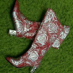 Μπότες κόκκινες