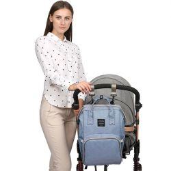 Bag backpack for mom with usb