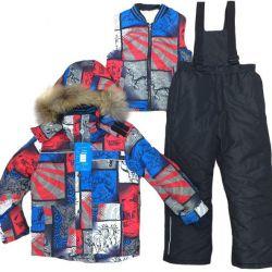 NEW winter kit + fur vest