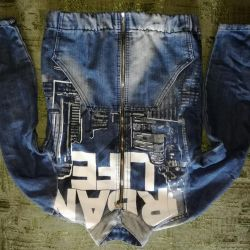 Детская джинсовая куртка р-р.140