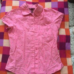 12-13 yaş arası bir kız için gömlek