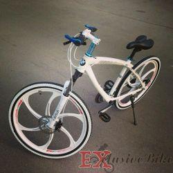 Ryazan'da alaşım jantlar BMW x1 üzerinde şık bisiklet