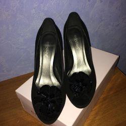 Новые туфли (натуральная замша)