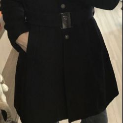 Trussardi coat with a beautiful belt buckle