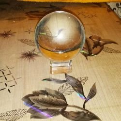 Crystal magic ball