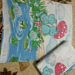 Bed linen for a baby bed