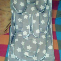 Mattress in the stroller
