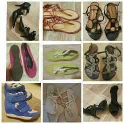 Bir Çok Ayakkabı