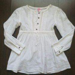 Kız pamuklu bluz 128