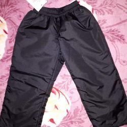 Pantschevka încălzită de pantaloni