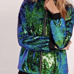 New bomber jacket / jacket from sequins 46-48