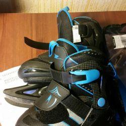 new children's skates in packaging