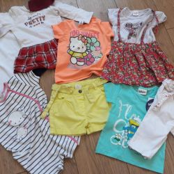 Clothing for children package