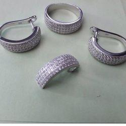 Gümüş seti