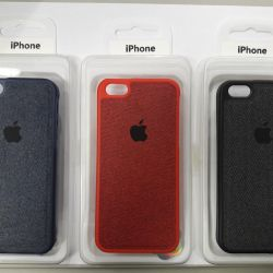 Canvas case with fabric insert iPhone 5s, 5se.