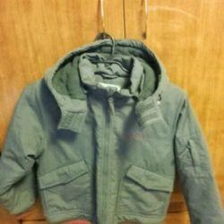 Куртка демисезонная мальчуковая 9-11 лет